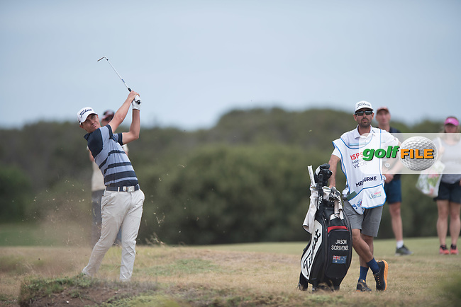 Jason Scrivener (NZL) during the final round of the VIC Open, 13th Beech, Barwon Heads, Victoria, Australia. 09/02/2019.<br /> Picture Anthony Powter / Golffile.ie<br /> <br /> All photo usage must carry mandatory copyright credit (&copy; Golffile | Anthony Powter)