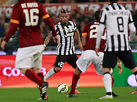 Carlos Tevez  during the Italian Serie A soccer match between   AS Roma and Juventus FC       at Olympic Stadium      in Rome ,March 02 , 2015