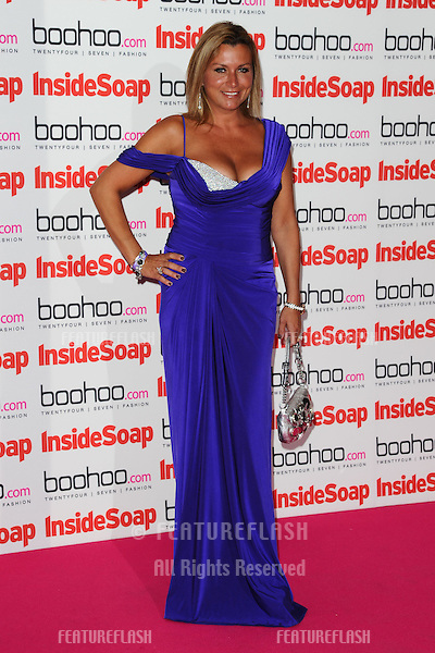 Tricia Penrose arriving for the 2012 Inside Soap Awards, at No.1 Marylebone, London. 24/09/2012 Picture by: Steve Vas / Featureflash