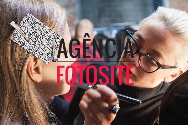 Nova Iorque, EUA &ndash; 02/2014 - Desfile de Vera Wang durante a Semana de moda de Nova Iorque - Inverno 2014. <br /> Foto: FOTOSITE