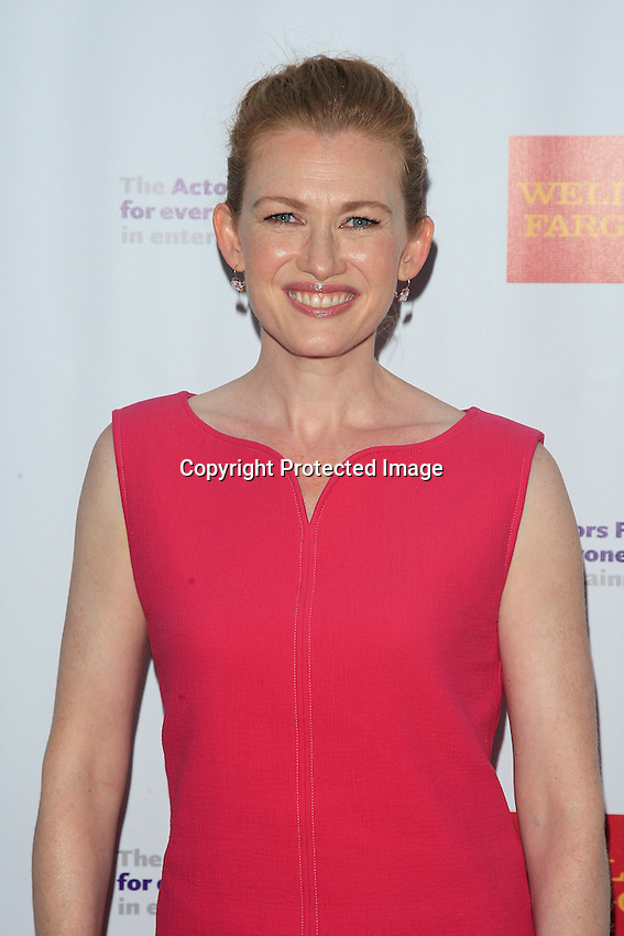 LOS ANGELES - JUN 7: Mireille Enos at the Actors Fund's 19th Annual Tony Awards Viewing Party at the Skirball Cultural Center on June 7, 2015 in Los Angeles, CA