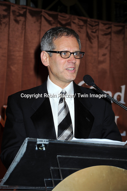 David Steinberger  attends The 2011 National Book Awards Gala on November 16, 2011 at Cipriani Wall Street in New York City.