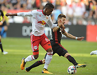 Washington, D.C. - October 22, 2017: The New York Red Bulls defeated D.C. United 2-1 during their Major League Soccer (MLS) home match at RFK Stadium.