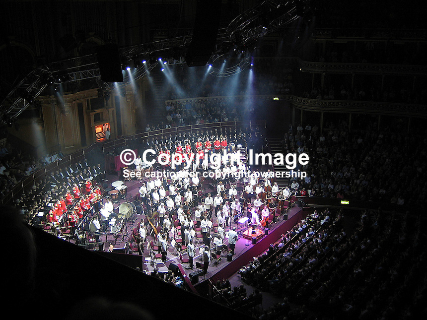Classical Spectacular Concert, Royal Albert Hall, London. Ref: 2005290304217..Copyright Image from Victor Patterson, 54 Dorchester Park, Belfast, UK, BT9 6RJ..Tel: +44 28 9066 1296.Mob: +44 7802 353836.Voicemail +44 20 8816 7153.Skype: victorpattersonbelfast.Email: victorpatterson@mac.com.Email: victorpatterson@ireland.com (back-up)..IMPORTANT: If you wish to use this image or any other of my images please go to www.victorpatterson.com and click on the Terms & Conditions. Then contact me by email or phone with the reference number(s) of the image(s) concerned.