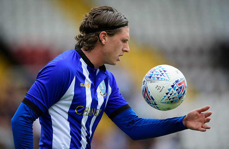 Sheffield Wednesday's Adam Reach<br /> <br /> Photographer Chris Vaughan/CameraSport<br /> <br /> Football Pre-Season Friendly - Lincoln City v Sheffield Wednesday - Saturday July 13th 2019 - Sincil Bank - Lincoln<br /> <br /> World Copyright © 2019 CameraSport. All rights reserved. 43 Linden Ave. Countesthorpe. Leicester. England. LE8 5PG - Tel: +44 (0) 116 277 4147 - admin@camerasport.com - www.camerasport.com