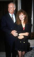 Mike Farrell, Shelley Fabares, 1992, Photo By Michael Ferguson/PHOTOlink
