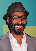NEW YORK CITY, NY, USA - MAY 15: Jesse L Martin at The CW Network's 2014 Upfront held at The London Hotel on May 15, 2014 in New York City, New York, United States. (Photo by Celebrity Monitor)