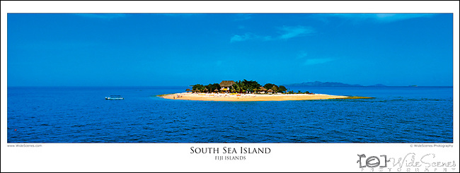 PP1744 South Sea Island, Fiji Islands Poster. <br /> Size: 595mm x 210mm<br /> Available: 5 only<br /> Price: AUD$12.95 + Postage
