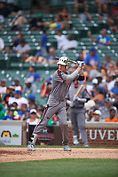 Drew Waters (1) of Etowah High School in Woodstock, Georgia during the Under Armour All-American Game presented by Baseball Factory on July 23, 2016 at Wrigley Field in Chicago, Illinois.  (Mike Janes/Four Seam Images)