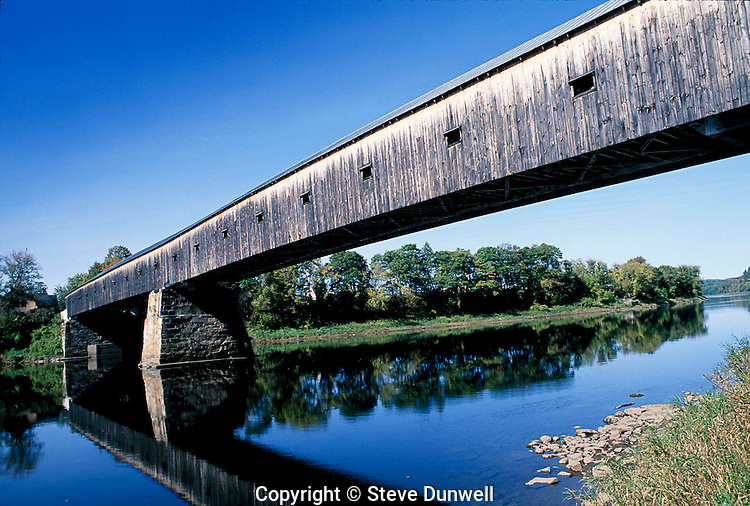 Winsor-Cornish Covered Bridge, Connecticut River, Winsor, VT