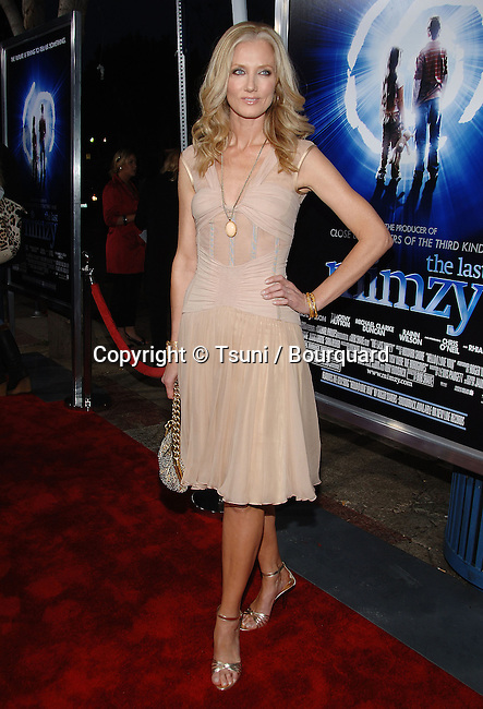 Joely Richardson arriving at the Mimzy Premiere at the Westwood Village Theatre in Los Angeles.<br /> <br /> full length