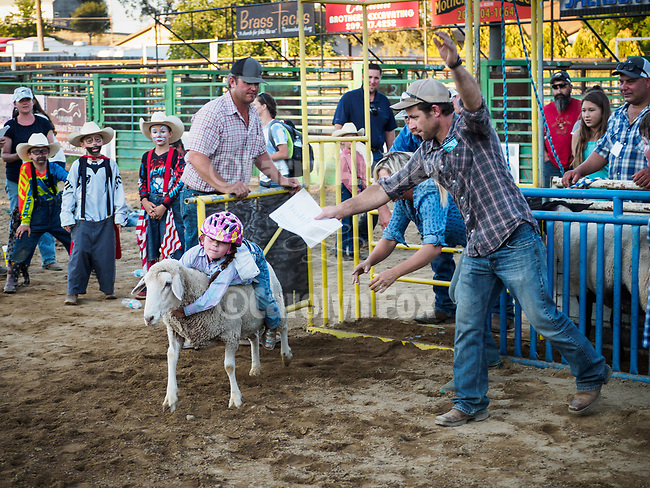 Mutton Bustin' at the 79th Amador County Fair, Plymouth, Calif.<br /> <br /> <br /> #AmadorCountyFair, #PlymouthCalifornia,<br /> #TourAmador, #VisitAmador,