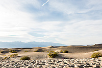 Mesquite Flat Sand Dunes. Death Valley National Park, California.