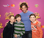 Ryan Foust, Jake Ryan Flynn, Christian Borle and Ryan Sell attend the ''Charlie and the Chocolate Factory' Cast Photo Call at the New 42nd Street Studios on February 21, 2017 in New York City.