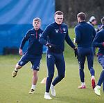 06.03.2020: Rangers training: George Edmundson