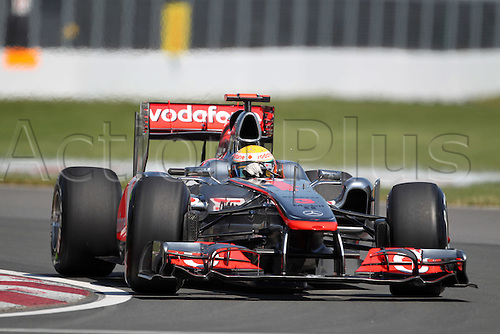 10.06.2011 Montreal, Canada. Lewis Hamilton (GBR), Vodafone McLaren Mercedes practises on the track at the Formula 1 World Championship Round 07 at Canadian Grand Prix 2011 at Circuit Gilles Villeneuve