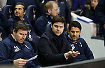 Tottenham's Mauricio Pochettino looks on during the Europa League match at White Hart Lane Stadium.  Photo credit should read: David Klein/Sportimage