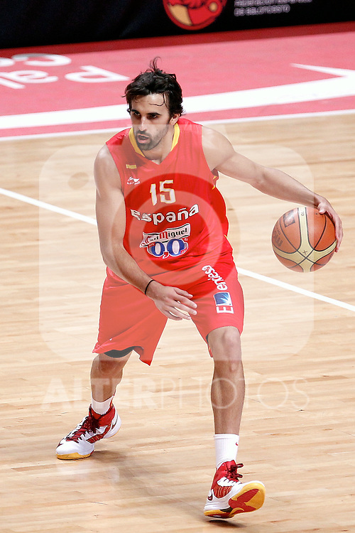 Spain's Victor Sada during friendly match.July 9,2012.(ALTERPHOTOS/Alconada)