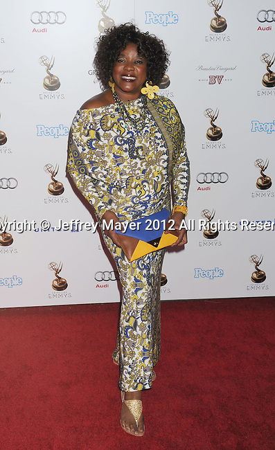 WEST HOLLYWOOD, CA - SEPTEMBER 21: Loretta Devine attends the 64th Primetime Emmy Awards Performers Nominee reception held at Spectra by Wolfgang Puck at the Pacific Design Center on September 21, 2012 in West Hollywood, California.