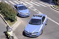 - Milan, Police patrol cars<br /> <br /> - Milano, auto della Polizia