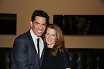 After Party Opening Night of Boeing-Boeing starring One Life To Live Matt Walton (Benard) poses with his wife Alecia on January 22, 2012 at the Paper Mill Playhouse, Millburn, New Jersey. (Photo by Sue Coflin/Max Photos)