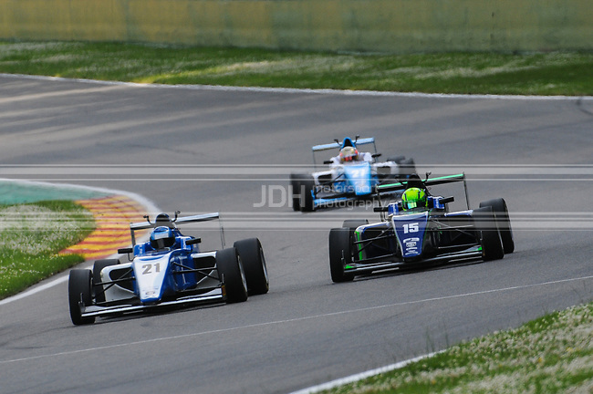 Chase Owen - Hillspeed with Cliff Dempsey Racing & James Pull - Carlin BRDC British F3 Championship