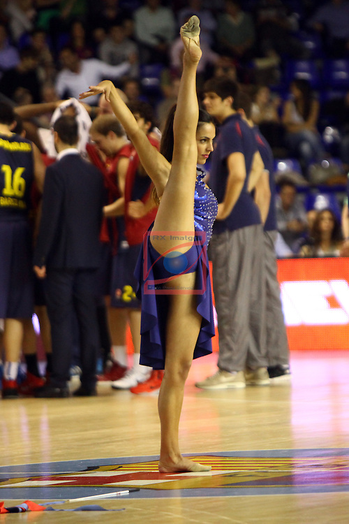 Euroleague Basketball-Playoffs Game: 1.<br /> FC Barcelona vs Galatasaray Liv Hospital Istanbul: 88-61.<br /> Dream Cheers.