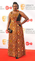 Wunmi Mosaku at the Virgin TV British Academy (BAFTA) Television Awards 2018, Royal Festival Hall, Belvedere Road, London, England, UK, on Sunday 13 May 2018.<br /> CAP/CAN<br /> &copy;CAN/Capital Pictures