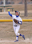 Western Nevada College Wildcats' Melanie Mecham makes a play against College of Southern Idaho at Edmonds Sports Complex, in Carson City, Nev., on Friday, Feb. 27, 2015. <br /> Photo by Cathleen Allison/Nevada Photo Source