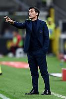 Vincenzo Montella coach of Fiorentina <br /> Milano 29/09/2019 Stadio Giuseppe Meazza <br /> Football Serie A 2019/2020 <br /> AC Milan - ACF Fiorentina   <br /> Photo Image Sport / Insidefoto