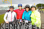 Pictured at the Fenit Coastal Cycle on Saturday were l-r: Paul Carey (Tralee) Margaret Lyons (Tralee) Joan Hill (Tralee) and Ann O'Riordan (Tralee)..