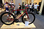 Prova Cycles stand at Bespoked 2018 UK handmade bicycle show held at Brunel's Old Station & Engine Shed, Bristol, England. 21st April 2018.<br /> Picture: Eoin Clarke | Cyclefile<br /> <br /> <br /> All photos usage must carry mandatory copyright credit (© Cyclefile | Eoin Clarke)