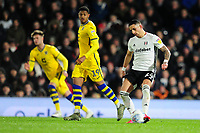 Anthony Knockaert of Fulham in action during the Sky Bet Championship match between Fulham and Swansea City at Craven Cottage on February 26, 2020 in London, England. (Photo by Athena Pictures/Getty Images)