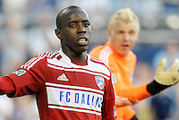 Jair Benitez FC Dallas midfielder... Sporting KC defeated FC Dallas 2-1 at LIVESTRONG Sporting Park, Kansas City, Kansas.