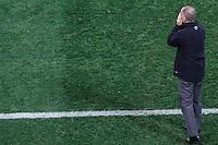 SÃO PAULO,SP,18.05.2014 - CAMPEONATO BRASILEIRO - CORINTHIANS x FIGUEIRENSE- O tecnico  do Corinthians Mano Menezes durante partida entre Corinthians x Figueirense valido pela 05º rodada do Campeonato Brasileiro no estádio Arena Corinthians na tarde deste domingo (18).(Foto Ale Vianna/Brazil Photo).
