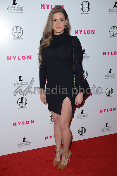 09 February  - Hollywood, Ca - Brittany Cartwright. Arrivals for the NYLON Magazine Pre-Grammy Party held at No Vacancy. Photo Credit: Birdie Thompson/AdMedia
