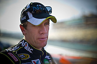 Though out of the points race for the championship, Carl Edwards (#99) looked to play spoiler.