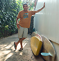 Gerry Lopez (HAW) at Backyards on the Northshore of Oahu in Hawaii.