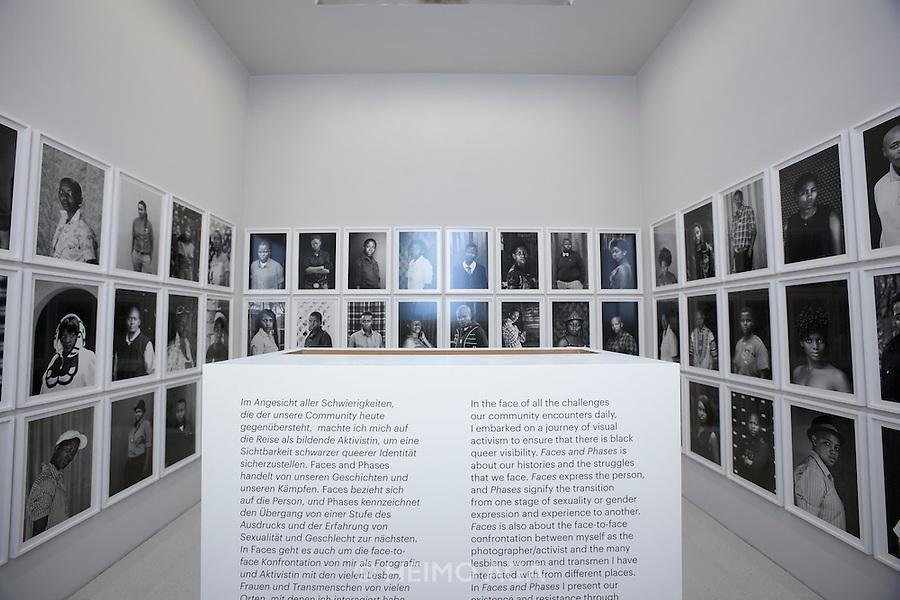 """dOCUMENTA (13) in Kassel, Germany..Neue Galerie..Zanele Muholi, """"Faces and Phases"""", 2011-12."""