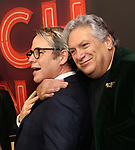 "Harvey Fierstein and Matthew Broderick attend the Broadway Opening Night of ""Torch Song"" at the Hayes Theater on Noveber 1, 2018 in New York City."