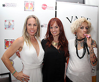 Christy Oldham, Christy Hemme, Lulu Danger<br /> at the 'DemiGoddess Vape' Celebrity Lounge hosted by PhotoMundo Publishing, Westin Los Angeles Airport Hotel, Los Angeles, CA 07-09-16