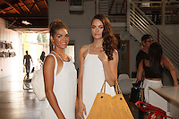 Aneiszka Sea, Rebecca Quinn attend Onna Ehrlich LA Luxe Launch Party on May 29, 2014 (Photo by Alexander Plank/Guest of a Guest)