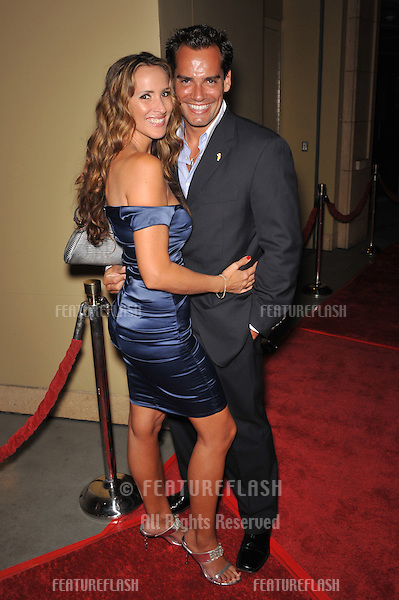 Christia De La Fuente & wife at the 8th Annual Padres Contra El Cancer Gala at the Grand Ballroom at Hollywood & Highland Centre, Hollywood..October 7, 2008  Los Angeles, CA.Picture: Paul Smith / Featureflash