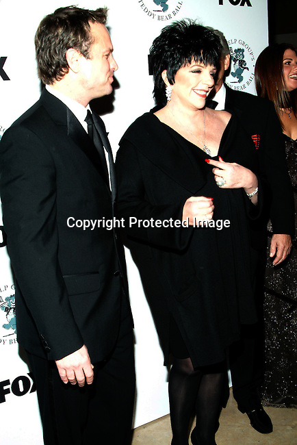 Sam Harris and Liza Minnelli<br />
