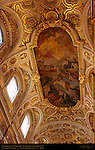 Apotheosis of St Louis IX of France Charles Joseph Natoire 1756 Nave Vault San Luigi dei Francesi Rome