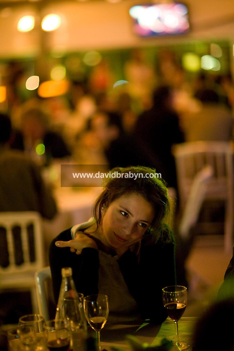 , diner, 20 ans de la Fondation Groupama-Gan pour le Cinema, Cannes, France, 18 mai 2007.