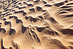 Sand pattern in the Sahara desert of Morocco.