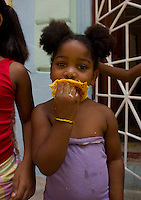 Mango fruits are famous in Cuba.