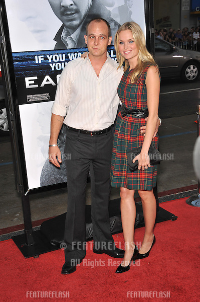 "Sunny Mabrey & husband Ethan Embry at the Los Angeles premiere of his new movie ""Eagle Eye"" at Grauman's Chinese Theatre, Hollywood..September 16, 2008  Los Angeles, CA.Picture: Paul Smith / Featureflash"