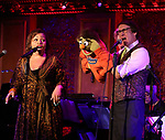 Carmen Ruby Floyd and Rick Lyon during the 'Avenue Q' 15th Anniversary Reunion Concert at Feinstein's/54 Below on July 30, 2018 in New York City.